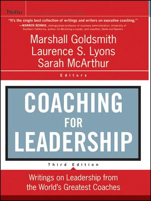 Coaching for Leadership By Goldsmith, Marshall/ Lyons, Laurence/ Mcarthur, Sarah